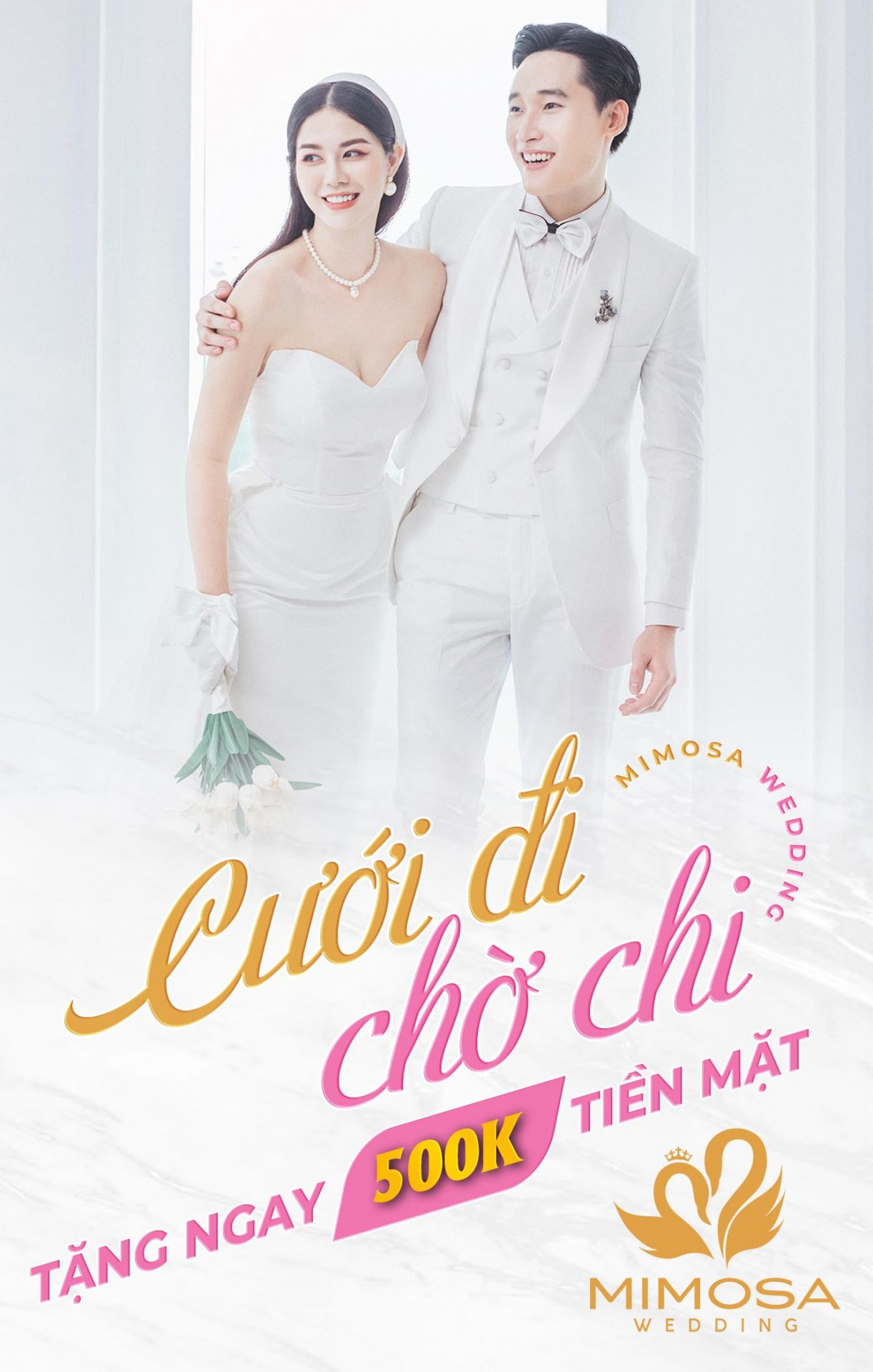 cuoi-di-cho-chi-mimosa-wedding